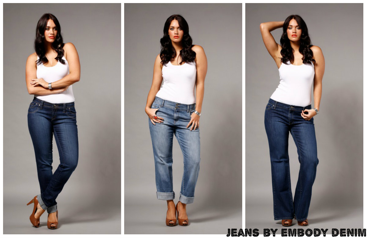 Designer Plus Size Jeans - Jeans Am